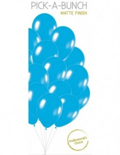 "Balloons 11"" 2 Sided Wedding Bells Pk6"
